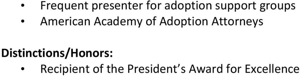 Adoption Attorneys