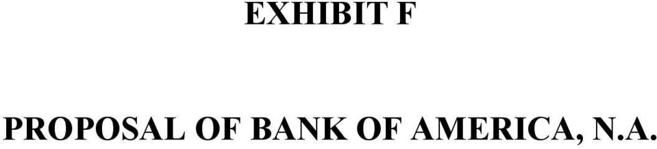 OF BANK OF
