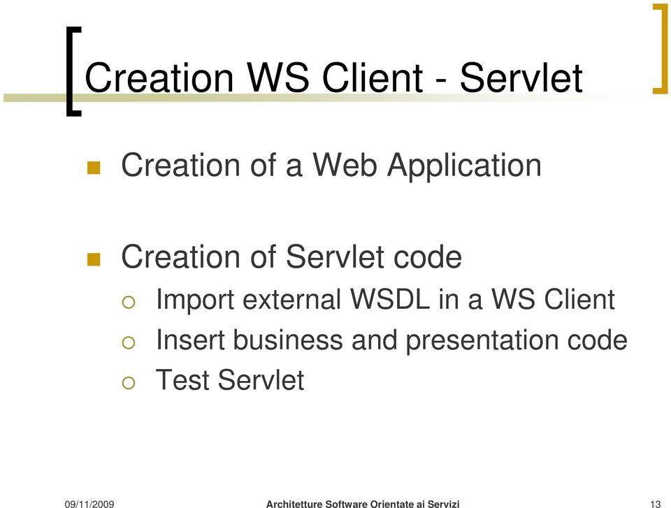 Import external WSDL in a WS Client Insert