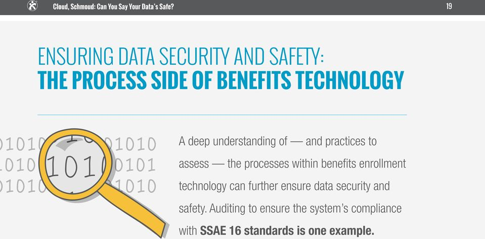 within benefits enrollment technology can further ensure data security and