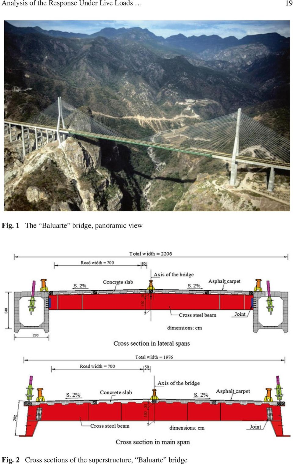 1 The Baluarte bridge, panoramic