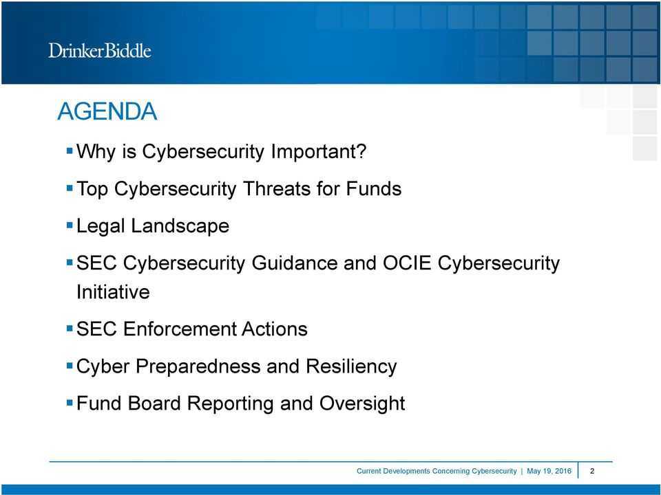 Guidance and OCIE Cybersecurity Initiative SEC Enforcement Actions Cyber