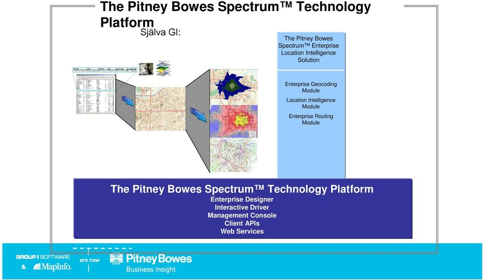 Location Intelligence Enterprise Routing The Pitney Bowes Spectrum Technology