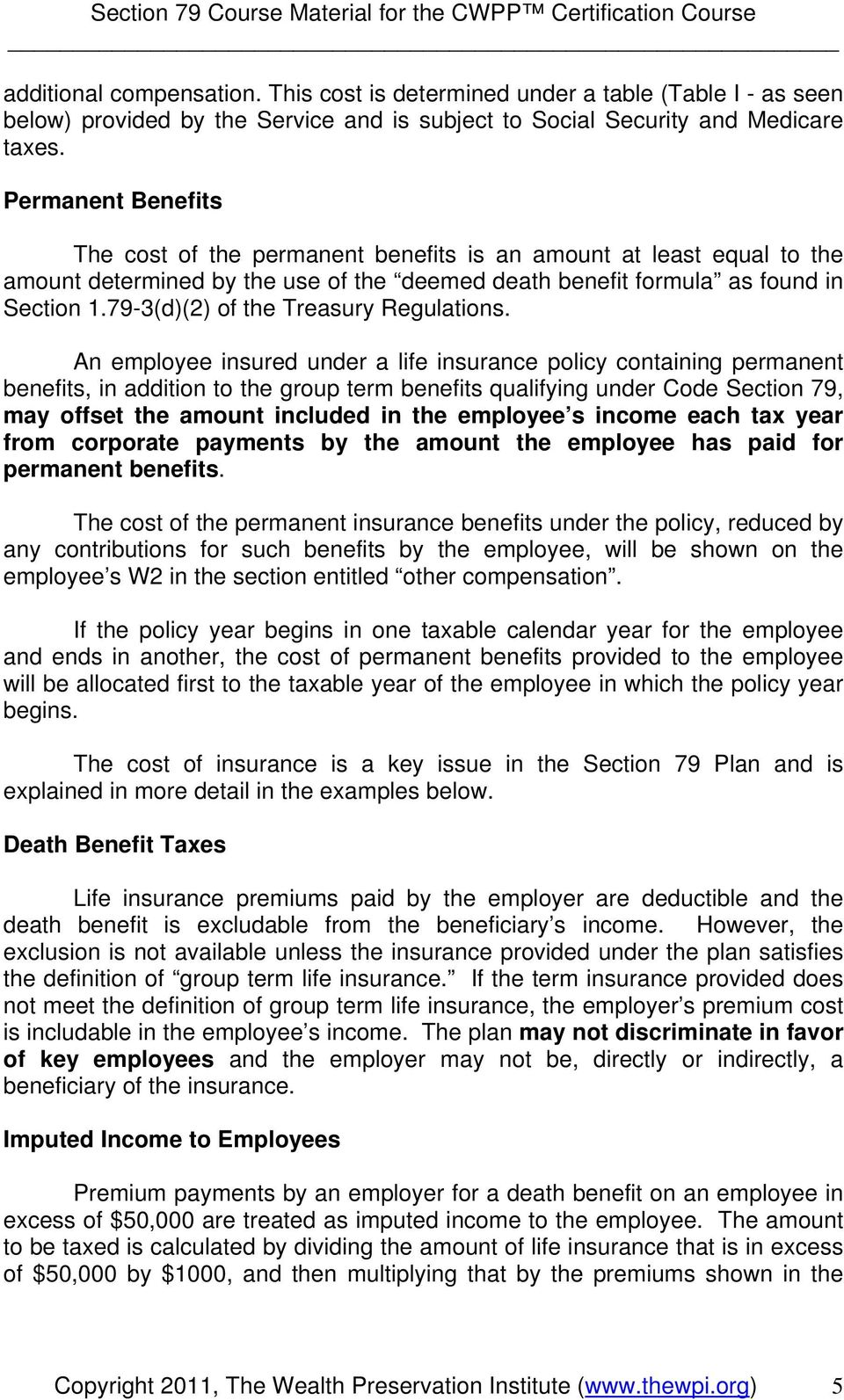 79-3(d)(2) of the Treasury Regulations.