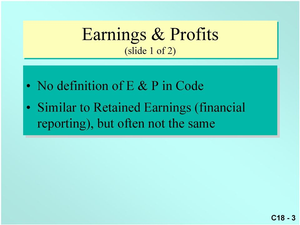 to Retained Earnings (financial