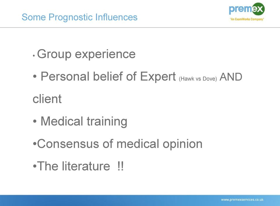 client Medical training Consensus of medical