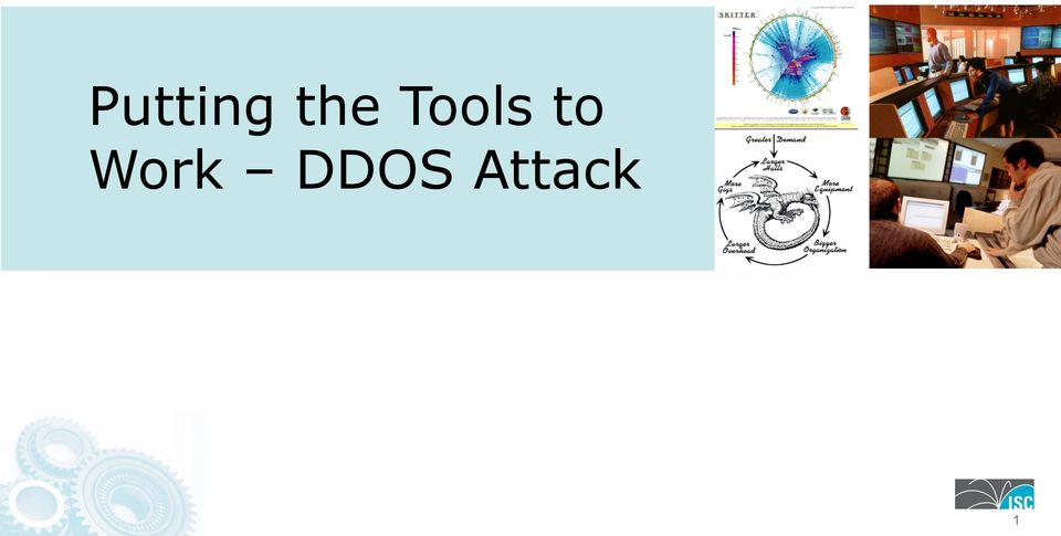 Putting the Tools to Work DDOS Attack - PDF