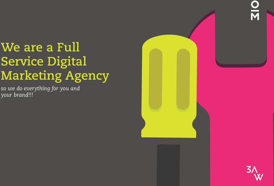 Agency so we do