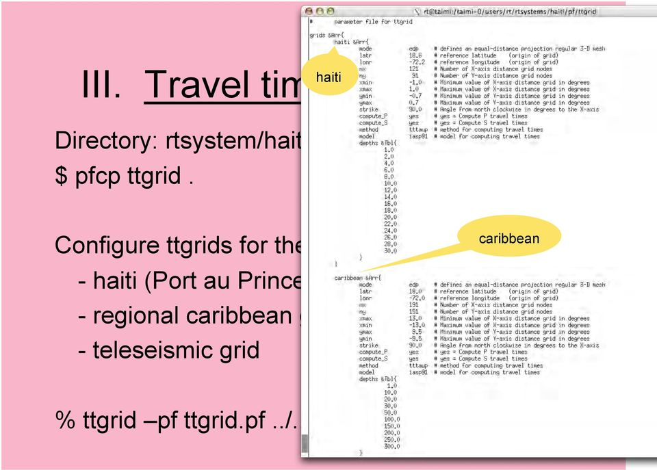 Configure ttgrids for the region (ttgrid.