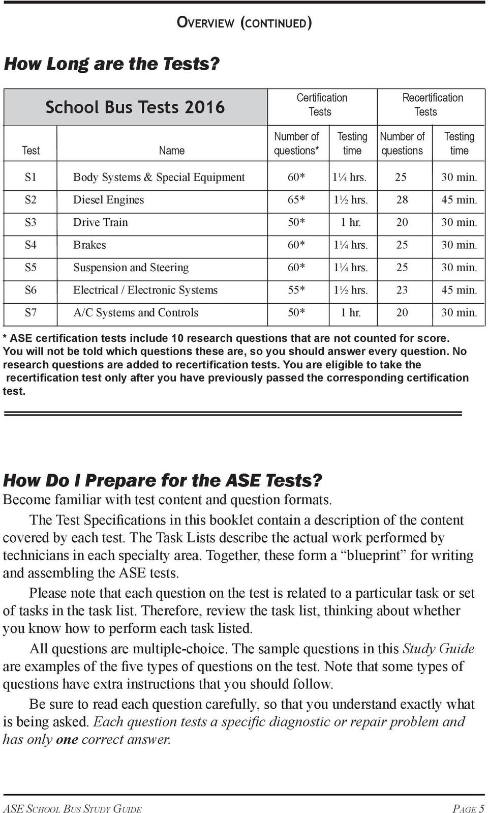 The Official Ase Study Guide Pdf