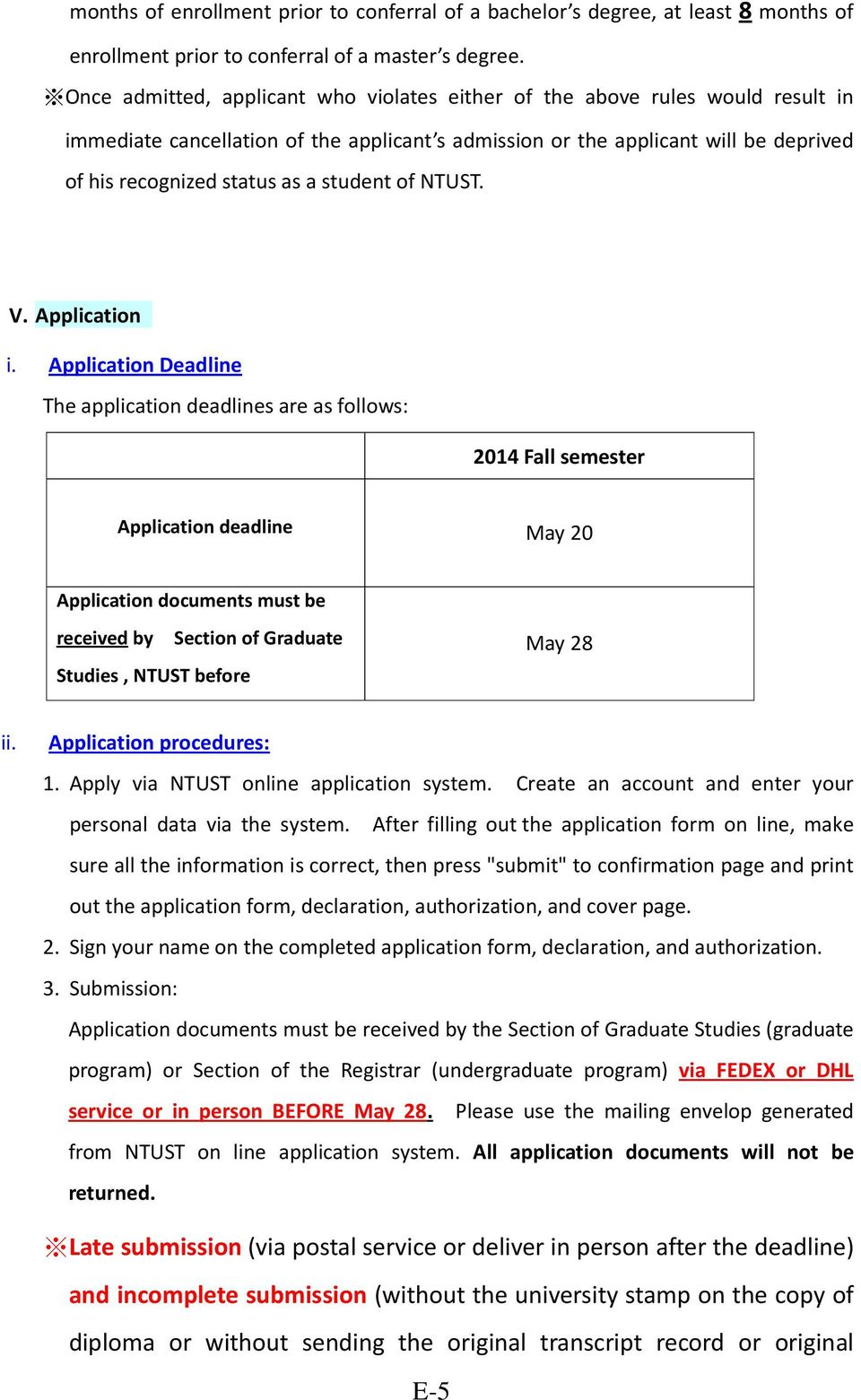 student of NTUST. V. Application i.