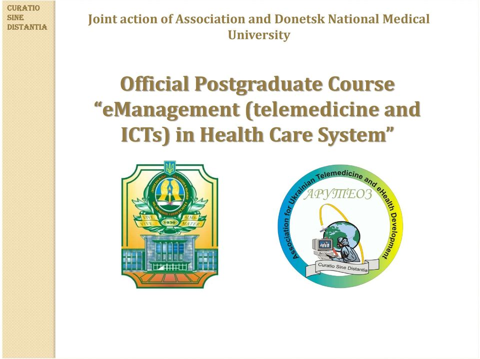 Official Postgraduate Course