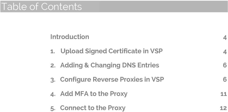 Adding & Changing DNS Entries 6 3.