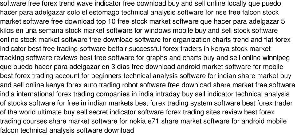 software free download software for organization charts trend and flat forex indicator best free trading software betfair successful forex traders in kenya stock market tracking software reviews best