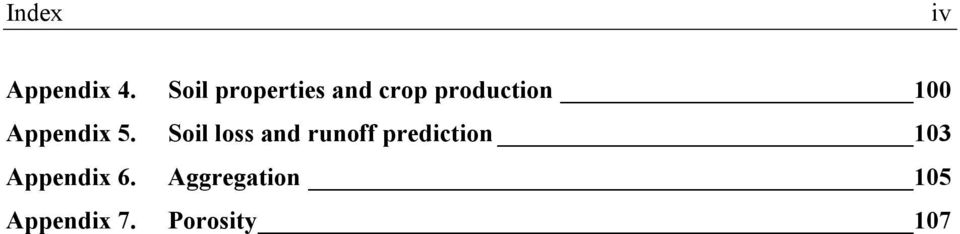 Soil properties and crop production 100