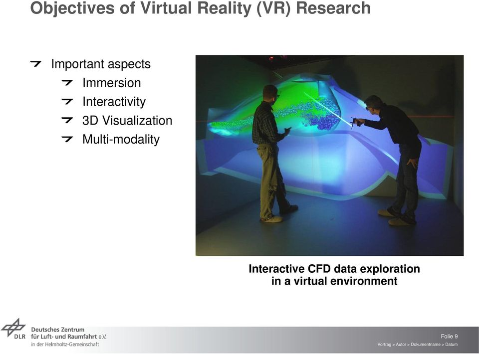 Visualization Multi-modality Interactive CFD