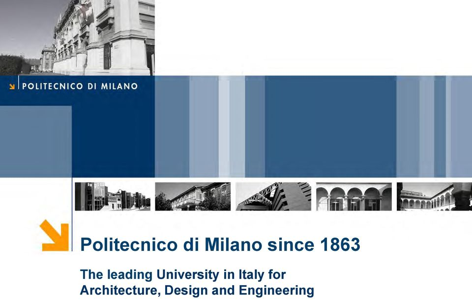 University in Italy for