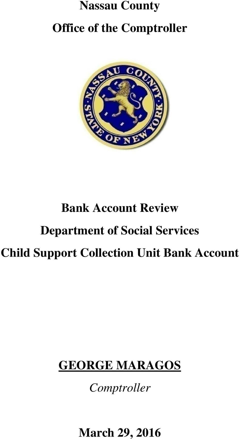 Services Child Support Collection Unit Bank