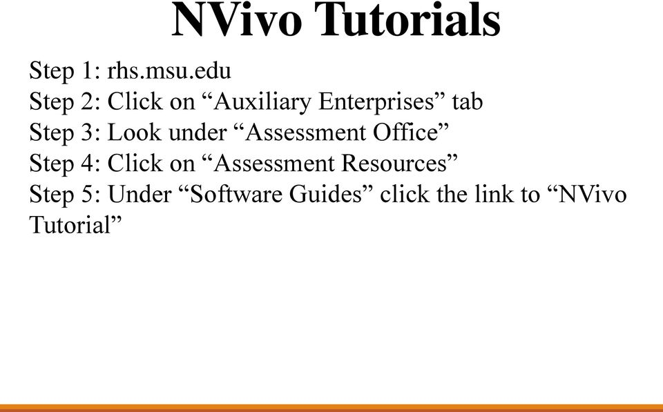 3: Look under Assessment Office Step 4: Click on