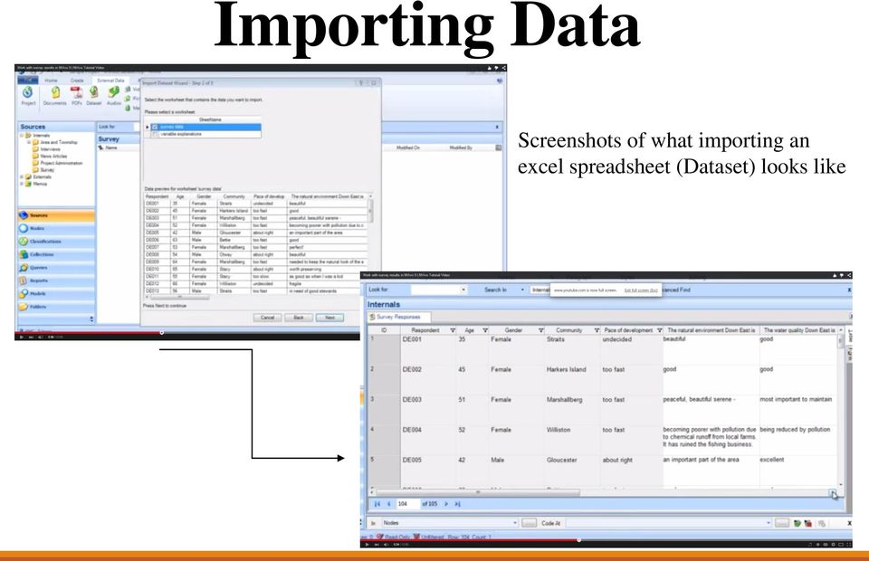 importing an excel