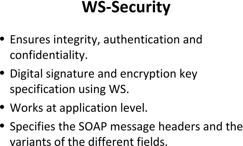 Digital signature and encryption key specification using