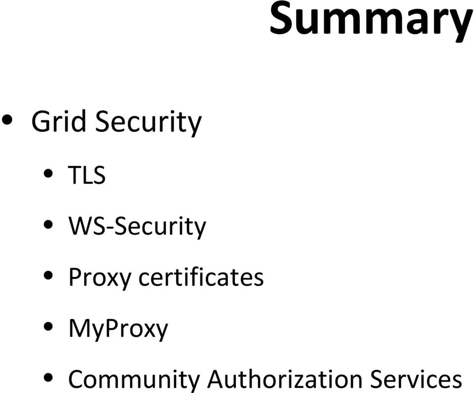 certificates MyProxy