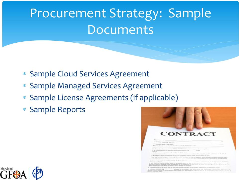 Managed Services Agreement Sample