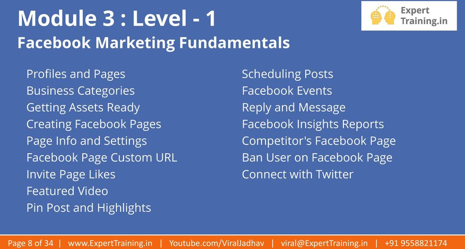 Scheduling Posts Facebook Events Reply and Message Facebook Insights Reports Competitor's Facebook Page Ban User on