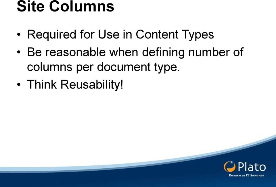 defining number of columns per