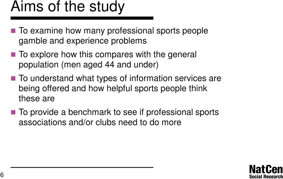 what types of information services are being offered and how helpful sports people think these