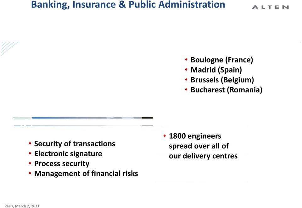 Electronic signature Process security Management of financial risks 1800