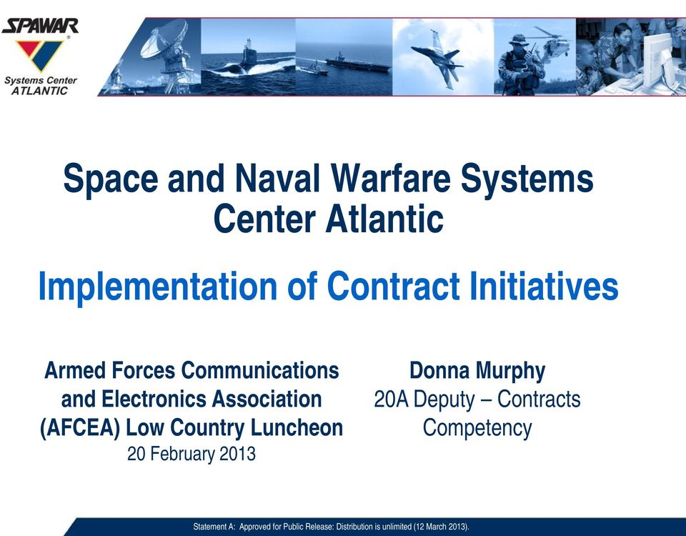 Communications and Electronics Association (AFCEA) Low