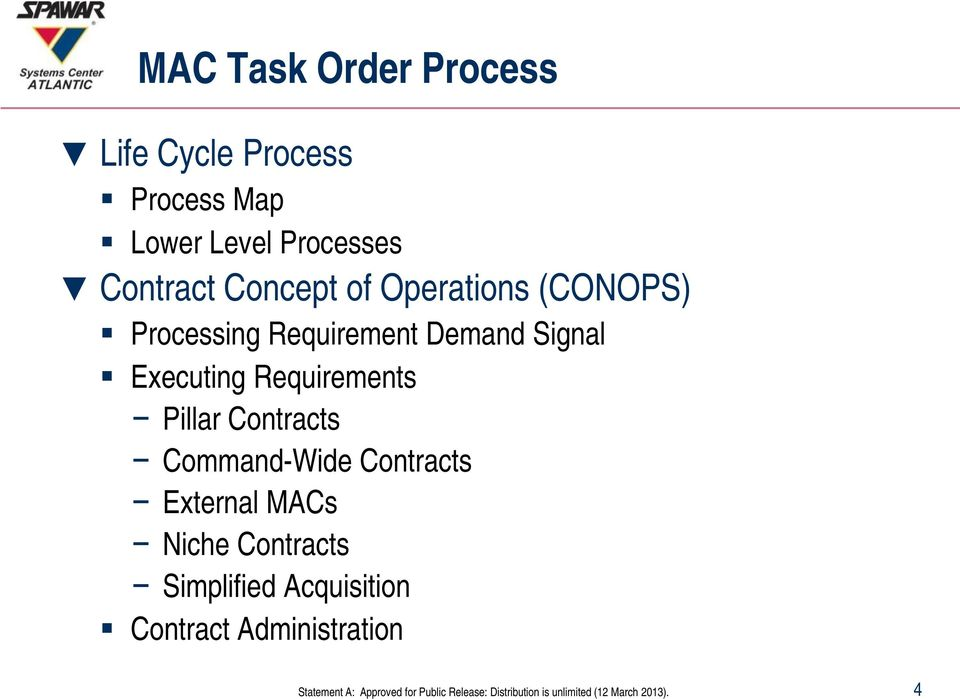 Demand Signal Executing Requirements Pillar Contracts Command-Wide
