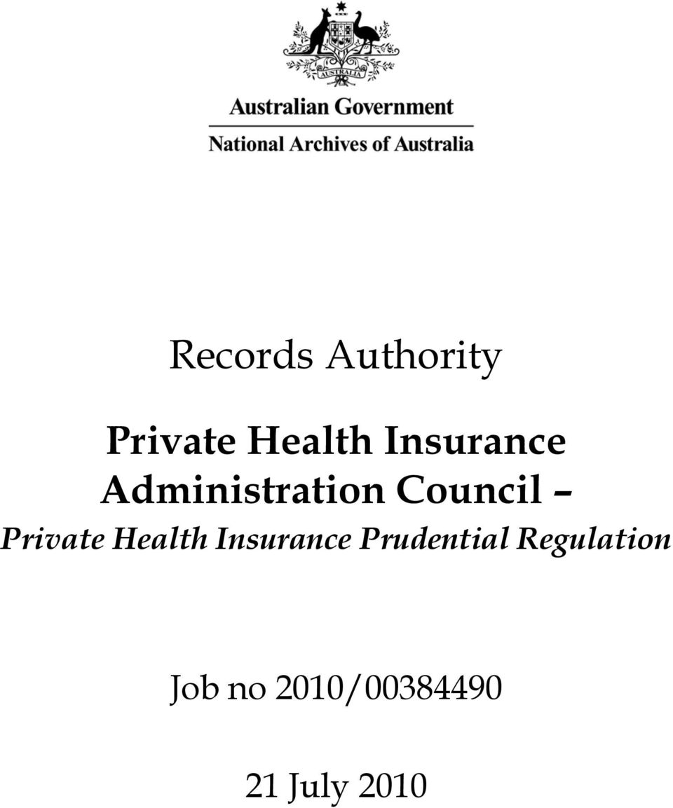 Private Health Insurance Prudential