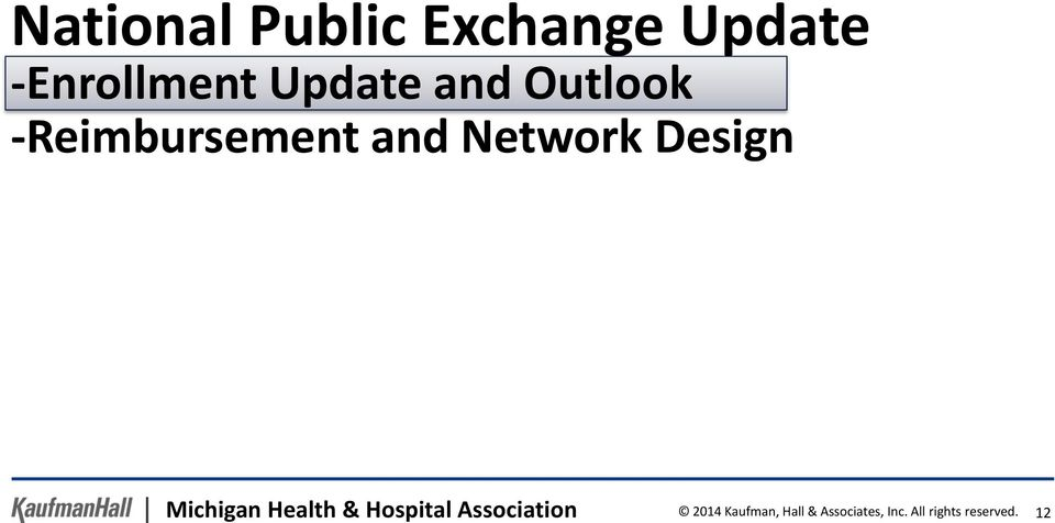 Design Michigan Health & Hospital Association