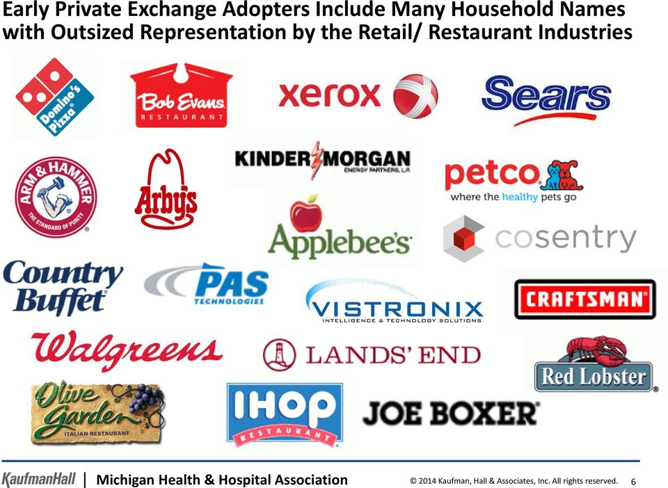 Restaurant Industries Michigan Health & Hospital