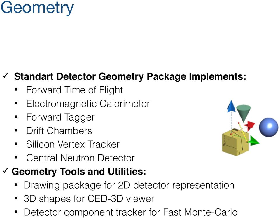 Central Neutron Detector Geometry Tools and Utilities: Drawing package for 2D