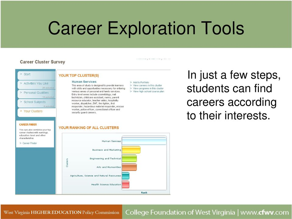 students can find careers