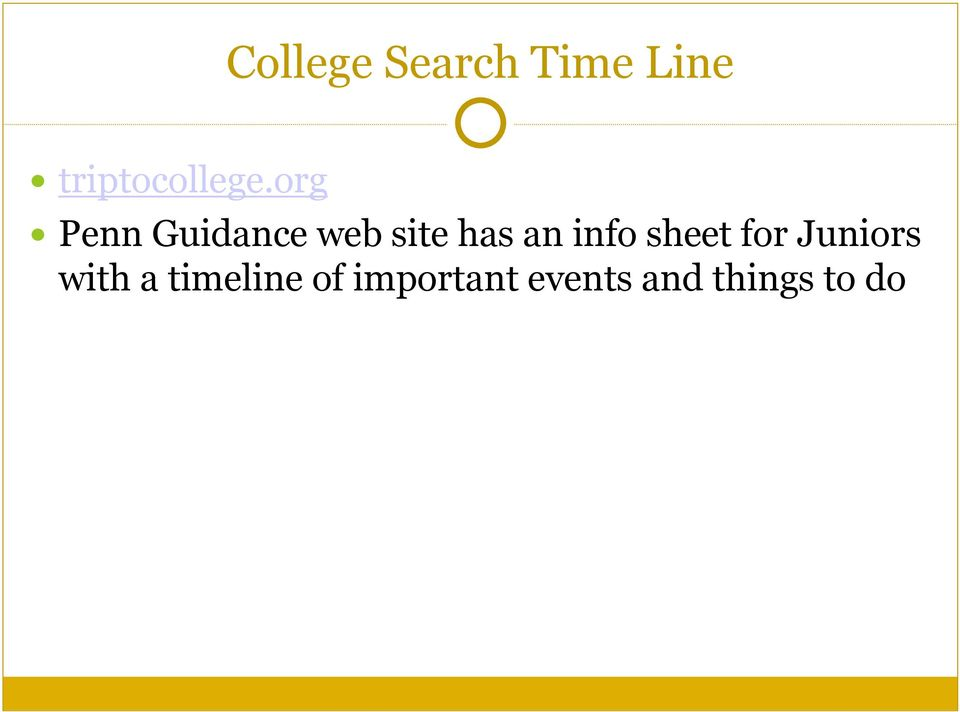 org Penn Guidance web site has an