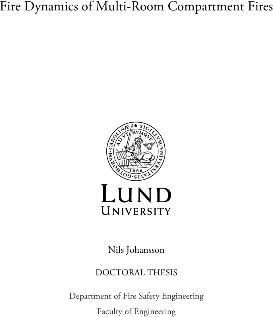Doctoral theses