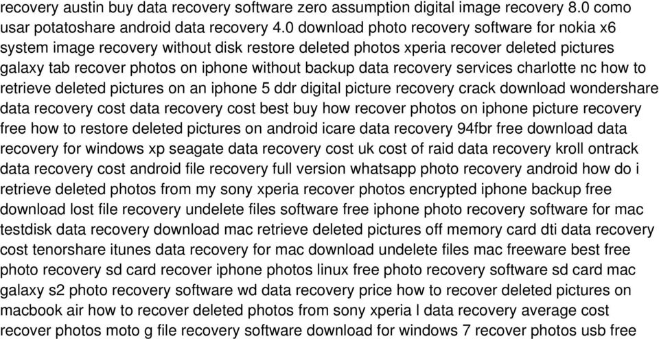 recovery services charlotte nc how to retrieve deleted pictures on an iphone 5 ddr digital picture recovery crack download wondershare data recovery cost data recovery cost best buy how recover