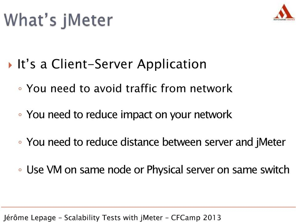 network You need to reduce distance between server and