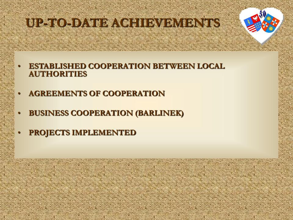 AGREEMENTS OF COOPERATION BUSINESS