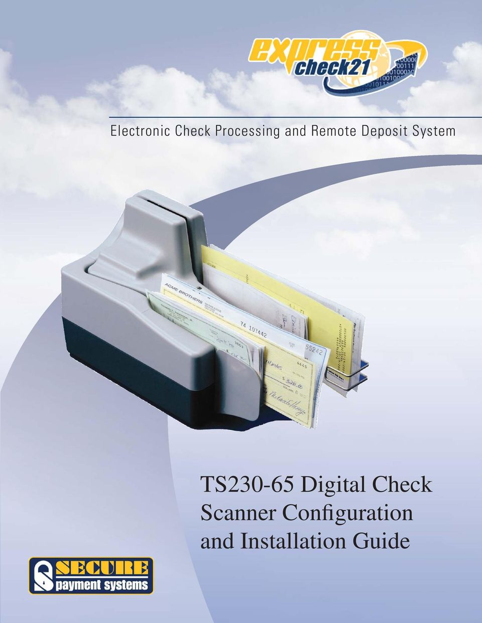 TS230-65 Digital Check Scanner