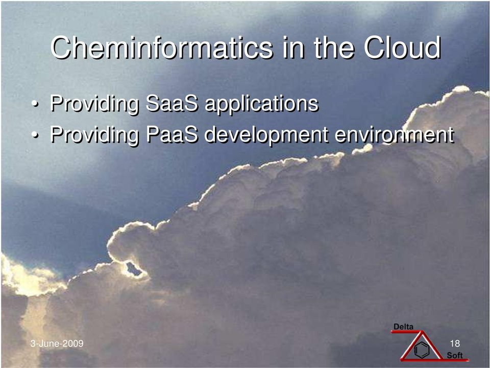 applications Providing PaaS