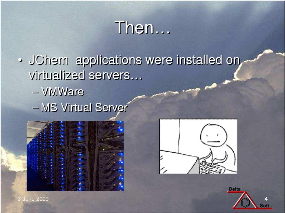 virtualized servers