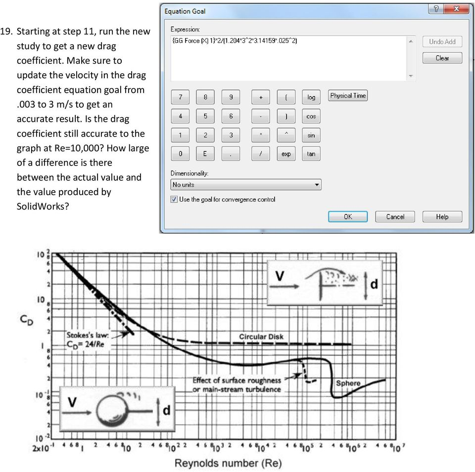 Finding drag coefficient using solidworks flow simulation pdf 003 to 3 ms to get an accurate result baditri Images