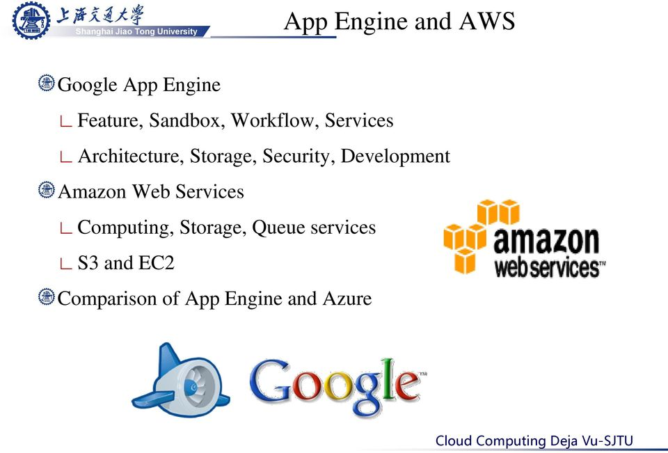 Development Amazon Web Services Computing, Storage,