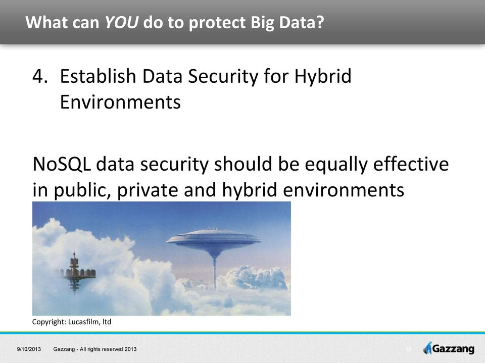 NoSQL data security should be equally effective in