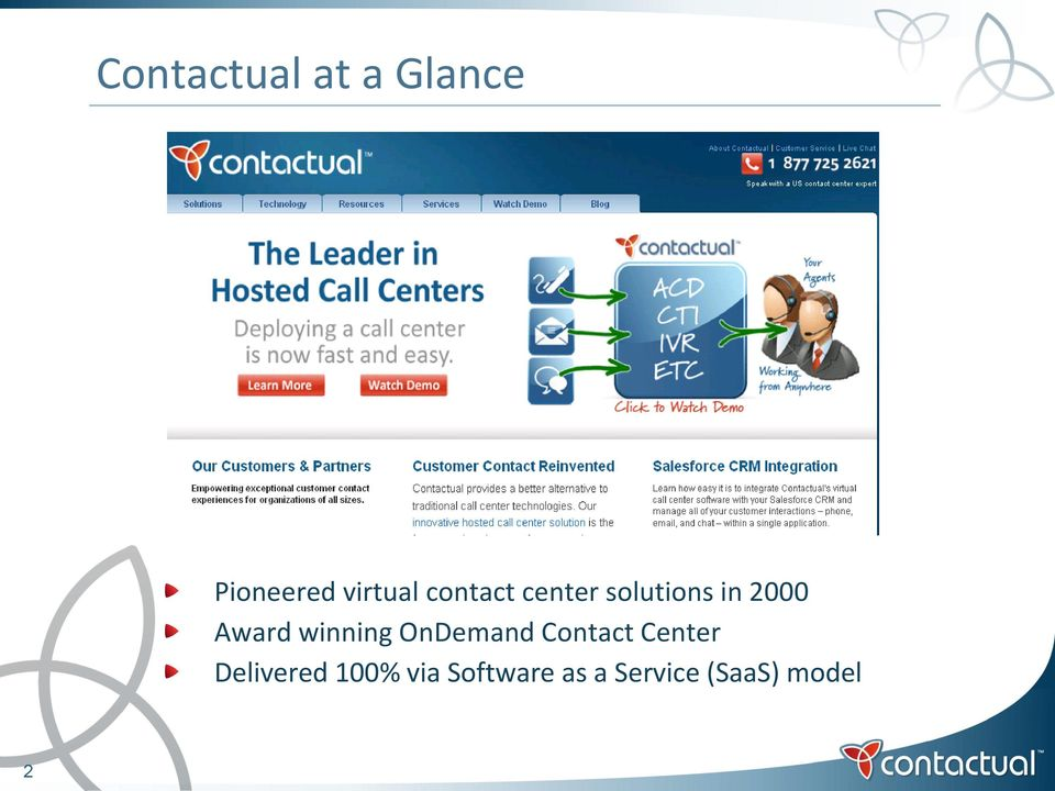 winning OnDemand Contact Center Delivered